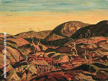 Pre Cambrain Hills 1938 By A Y Jackson