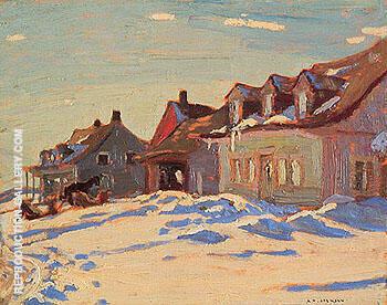Saint Fidele 1926 By A Y Jackson