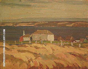 Saint Jean Iledorleans 1925 By A Y Jackson