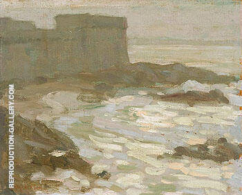Saint Malo 1911 By A Y Jackson - Oil Paintings & Art Reproductions - Reproduction Gallery