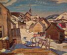 Saint Simon 1935 By A Y Jackson