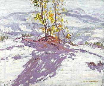 Sand Dunes at Cucq 1912 By A Y Jackson