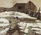 Sweetsburg Quebec 1910 By A Y Jackson