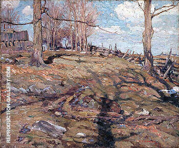 The Edge of the Maple Wood 1910 By A Y Jackson