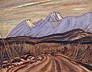 The Highway near Kluane Lake 1943 By A Y Jackson