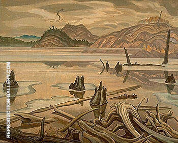 The Lake Howry Creek 1931 By A Y Jackson