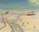 The Road to Saint Hilarion 1930 By A Y Jackson