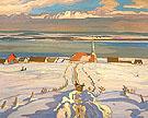 Winter Quebec 1926 By A Y Jackson