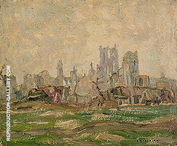 Ypres 1917 Painting By A Y Jackson - Reproduction Gallery