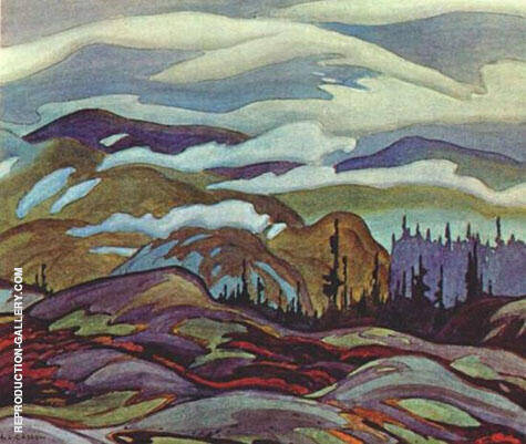 Algoma By A J Casson - Oil Paintings & Art Reproductions - Reproduction Gallery