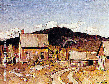 Barry Bay By A J Casson
