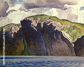 Bon Echo By A J Casson - Oil Paintings & Art Reproductions - Reproduction Gallery
