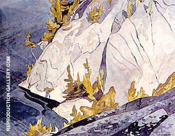 Cliffs Lake Mazinaw By A J Casson