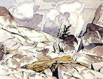 Cloche Hills By A J Casson