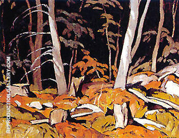 Combermere By A J Casson - Oil Paintings & Art Reproductions - Reproduction Gallery