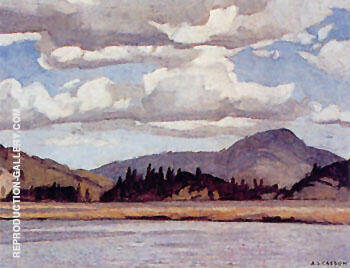 Reproduction of Conroy Marsh by A J Casson | Oil Painting Replica On CanvasReproduction Gallery