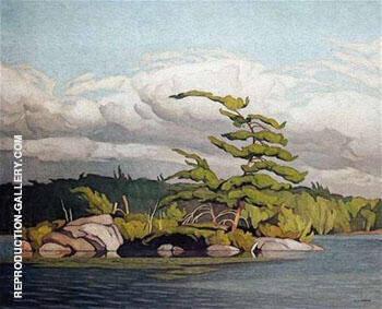 Moose Lake By A J Casson