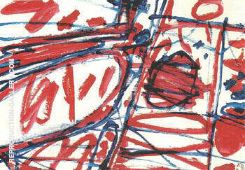 Mire G 123 1983 By Jean Dubuffet