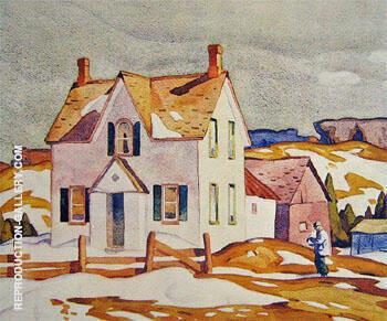 Farm House A By A J Casson