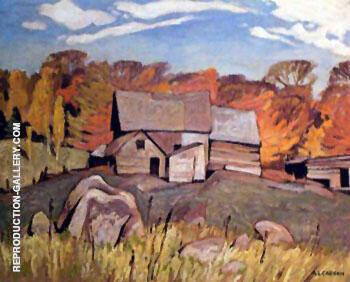 Farm Near Baptiste By A J Casson