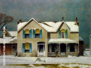 First Snow By A J Casson