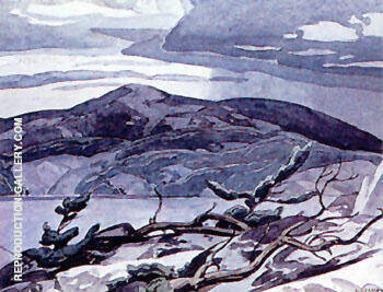 Fraser Bay By A J Casson