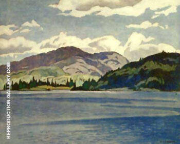 Kamaniskeg Lake Summer By A J Casson