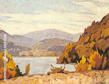 Lake Baptiste By A J Casson