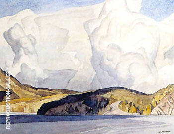 Lake Mazinaw By A J Casson - Oil Paintings & Art Reproductions - Reproduction Gallery