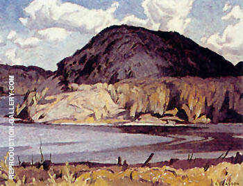 Long Lake By A J Casson
