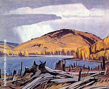 Madawaska River By A J Casson