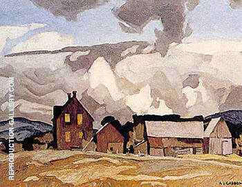 Reproduction of Madawaska Valley A by A J Casson | Oil Painting Replica On CanvasReproduction Gallery