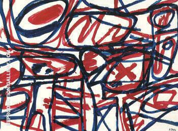 Sight G 204 Bolero 1984 By Jean Dubuffet