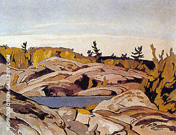 Morning Light By A J Casson Replica Paintings on Canvas - Reproduction Gallery