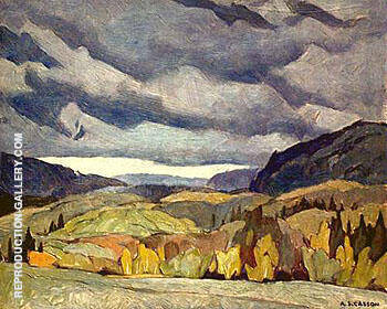 Near Diamond Lake By A J Casson