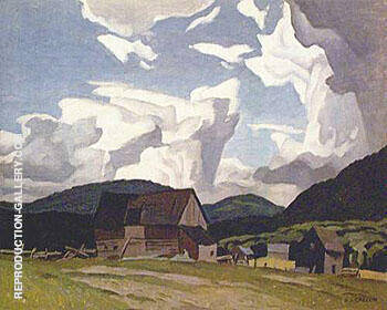 Northern Farm By A J Casson
