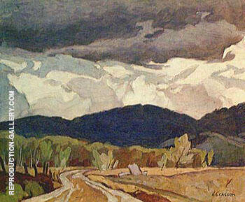 Northern Road By A J Casson