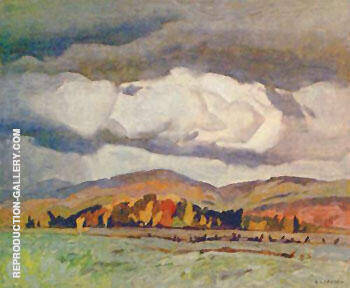 October Quebec By A J Casson