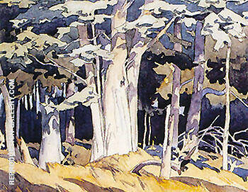 Old Maple By A J Casson - Oil Paintings & Art Reproductions - Reproduction Gallery