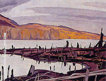 Opeongo River By A J Casson