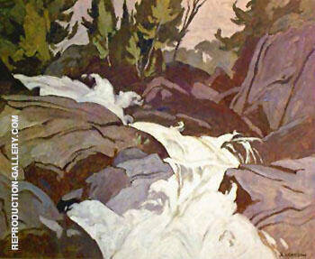 Oxtongue River By A J Casson