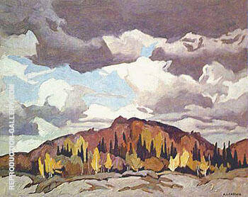 Pinery Road By A J Casson - Oil Paintings & Art Reproductions - Reproduction Gallery