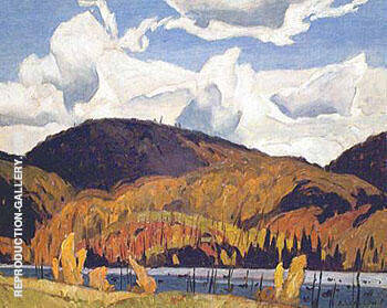 Redmond Bay By A J Casson Replica Paintings on Canvas - Reproduction Gallery