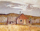 Settlers Cabin By A J Casson