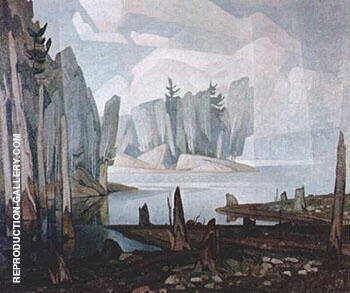 Silver Morning By A J Casson