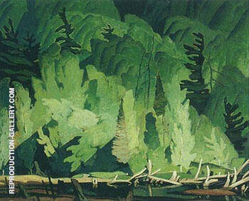 Summer Hillside kamaniskeg By A J Casson