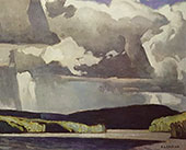 Summer Storm I By A J Casson