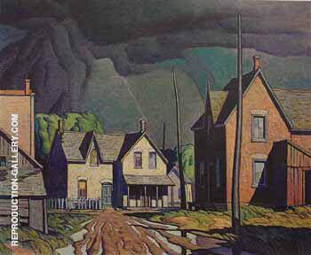 Thunder Storm By A J Casson
