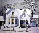 Village House By A J Casson