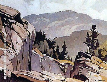White Fish Falls By A J Casson